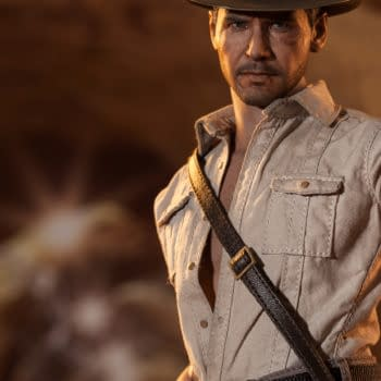 """""""We Named The Dog Indy"""" – Sideshow Collectible Has Time For Doctor Jones"""