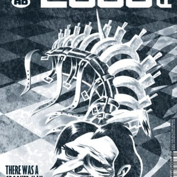 'A Step To The Side And Into The Shadows' – Ian Edginton Discusses The Big Reveal Of Stickleback's Identity In 2000AD (SPOILERS)