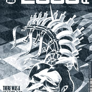 A Step To The Side And Into The Shadows – Ian Edginton Discusses The Big Reveal Of Sticklebacks Identity In 2000AD (SPOILERS)