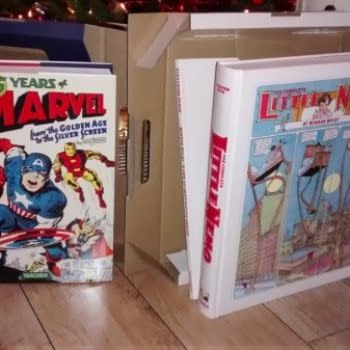Opening The Taschen Marvel And Little Nemo Books Under The Christmas Tree
