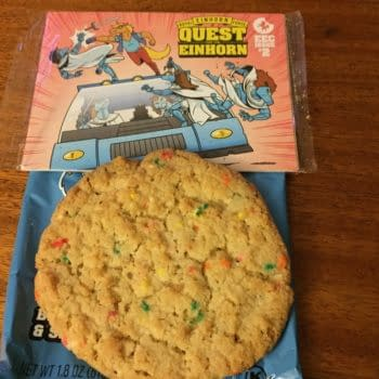 Opening A Box Of Deliciousness And Unicorn Comics From Einhorn's Epic Cookies