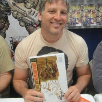 Graphic Novelist Joshua Dysart Is Researching His Next Comic Book In Northern Iraq
