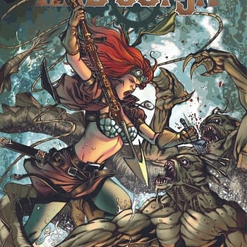 Exclusive First Look At Legenderry: Red Sonja, Vampirella And Green Hornet #2
