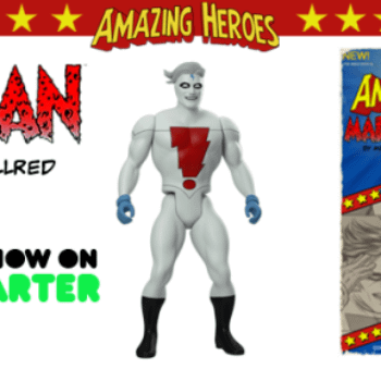 Amazing Heroes Wave 1.5 Retro Super Hero Action Figures – Mike Allred, Erik Larsen, Reilly Brown, Tim Seeley, Tom Fowler, Phil Hester And Sonny Liew