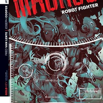 Fred Van Lente Talks The End Of Magnus: Robot Fighter