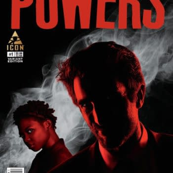 Bendis Shares Powers #1 Variant Cover From TV Series