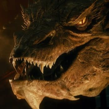 Smaug The Magnificent Does The Talk Show Circuit