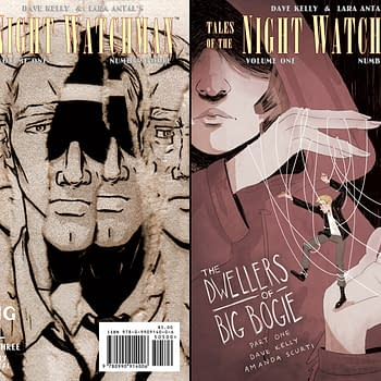 Preview So What Press New Fall Lineup &#8211 Tales Of The Night Watchman #3 Crawlspace And City Chickens