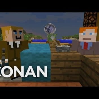 Conan Wanted To Do A Whole Episode In Minecraft But Couldn't – Instead, Have A Small Taste