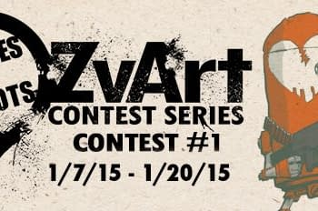 Show Your Zombies Vs. Robots Love With This Art Contest From IDW