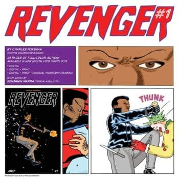 A Female 80's Hero Evens The Odds – Preview Revenger #1 From Charles Forsman And Oily Comics