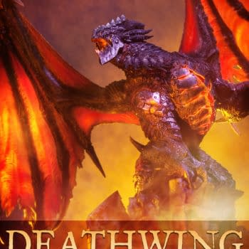 Sideshow Collectibles Offers Up Deathwing Statue From World Of Warcraft