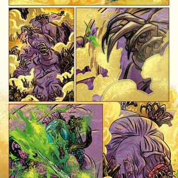 A Look At The Process For Captain Victory And The Galactic Rangers #4