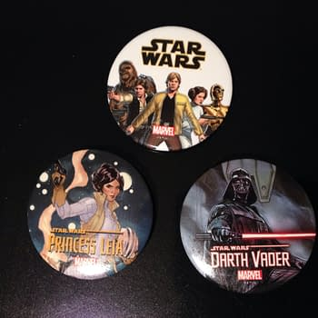 Gathering 7 Star Wars Variant Covers &#038 Swag