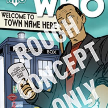 Doctor Who: The Ninth Doctor Gets Retailer Custom Covers