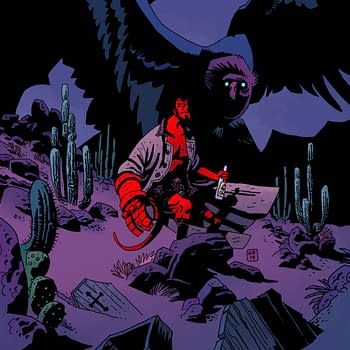 Preview Mignola And Bas Return To Hellboy And The Coffin Man In Dark Horse Presents #7