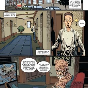 Writer's Commentary – Peter Milligan On Terminal Hero #5