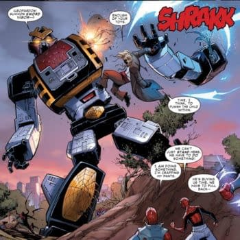 What Do You Do With A Broken Leopardon (Spider-Man 2099 Spoilers)