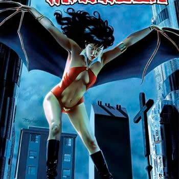 Writer's Commentary On Vampirella #8 By Nancy A Collins