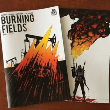 Thor's Comic Review Column – TMNT #2, Burning Fields #1, Galaxy Quest #1, Lazarus #14, Powers #1