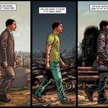 The Ascent Of Psychopath – Garth Ennis' Latest Crossed Webcomic