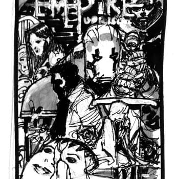 Barry Kitsons Process For His Empire Uprising #1 Covers