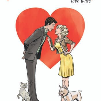 Ares & Aphrodite By  Jamie S. Rich And  Megan Leven Debuts Digitally Today