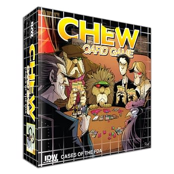 Eisner Award-Winning Series Chew Gets A Tabletop Game From IDW