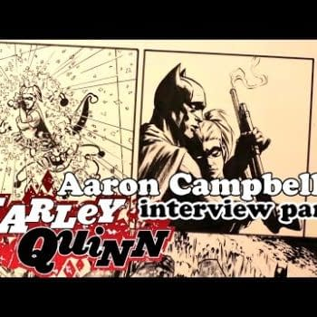 Maxx's Super Awesome Comic Review Show – Aaron Campbell Talks Harley Quinn, Southern Bastards, The Walking Dead, The Sculptor, & More!