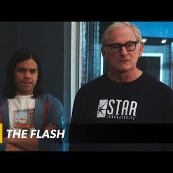 Even After The Explosion, Things Are Still Pretty Heated On The Flash