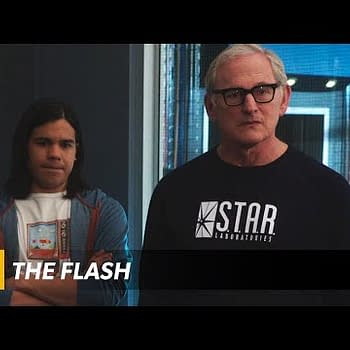 Even After The Explosion Things Are Still Pretty Heated On The Flash