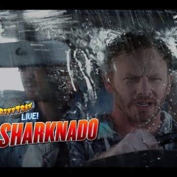 Riff Trax Tackles Sharknado In A Live Performance