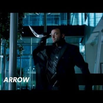 Behind The Scenes Of The Arrow Vs Captain Boomerang Fight