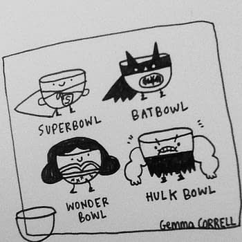 Comic Book Industry Reacts To&#8230 The Super Bowl