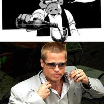 Approaching Brad Pitt To Play Cerebus