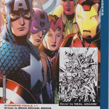 The Avengers Final Issue Variant Cover That's Eleven Years Old