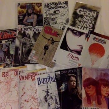 Silk, Darth Vader, Nameless, Bitch Planet, Fight Club 2 ComicsPRO Variants And More, For Retailers In Portland
