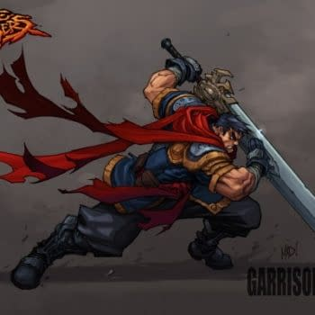 Joe Madueria's Battlechasers Back As A Comic Book – And A Game