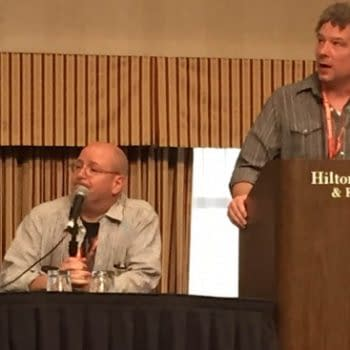 Mike Mignola's Hellboy In Hell: Hounds Of Pluto Shown At ComicsPRO