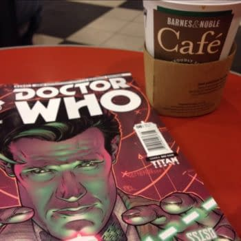Barnes & Noble Get Doctor Who Comics Early…