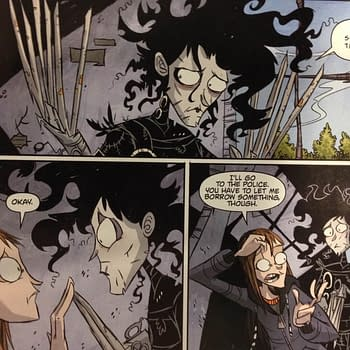 Edward Scissorhands #4 Is Endearing And Captivating