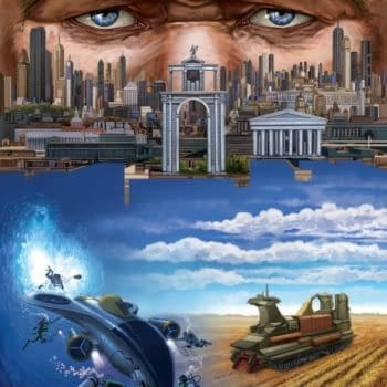 The All-Star Sci-Fi Anthology, Pangea, From Crazy 8 Hits Kickstarter