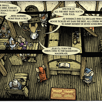 Advance Review Of Mouse Guard Vol. 3 # 1: Let The Storytelling Contest Begin