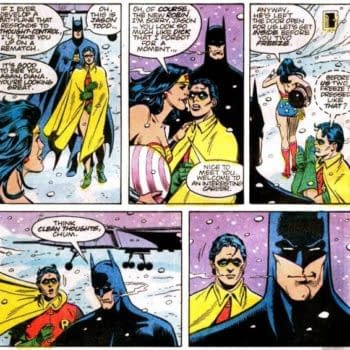The Lesson Batman Taught Both His Robins After Receiving A Kiss…
