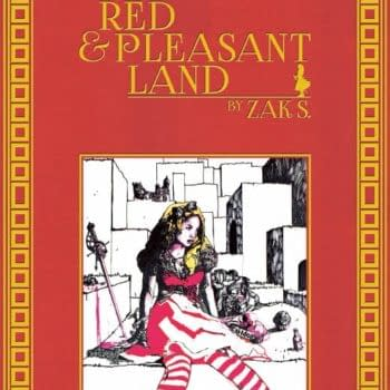 Looking At Zak Smith's A Red & Pleasant Land