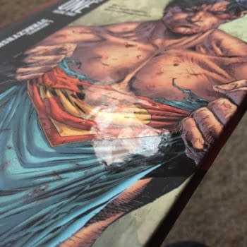 How Many Superman Earth One Vol 3 Have This Misprint?