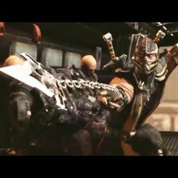 Watch 7 Minutes Of Johnny Cage In This Mortal Kombat X Story Section