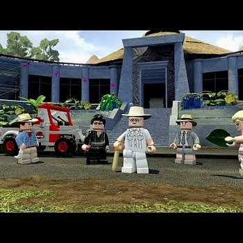 Tt Games LEGO Jurassic World Trailer Plays For The Laughs