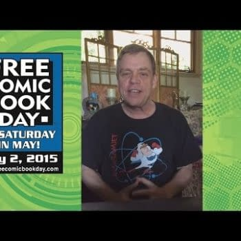 Mark Hamill Helps Promote Free Comic Book Day