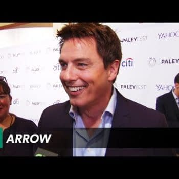Arrow And The Flash Casts On The Red Carpet At PaleyFest